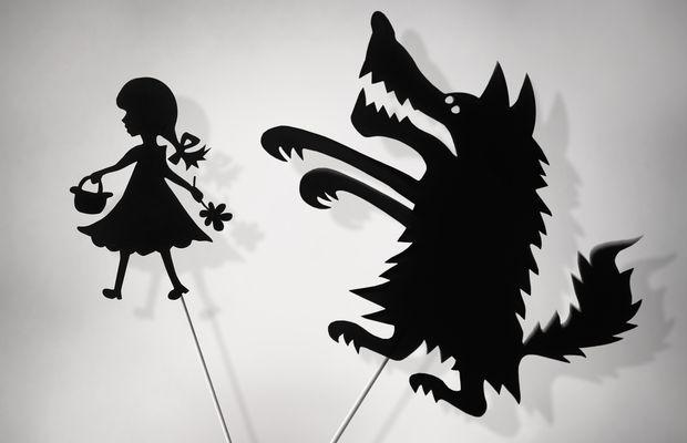narcissisme pathologique loup poursuivant une petite fille
